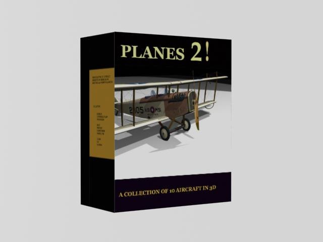airplane beech d-18 3d model