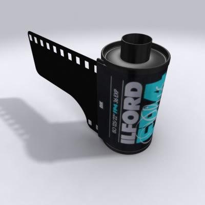 35mm ilford film max