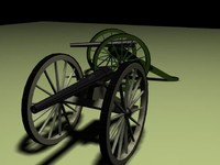 civil war cannon parrot 3d 3ds