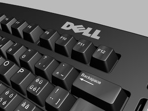 dell keyboard 3d 3ds