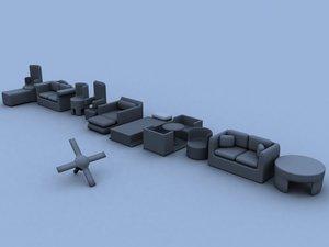 3d model necksmasher furniture 1