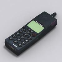 ericsson sh888 cellular phone 3d model