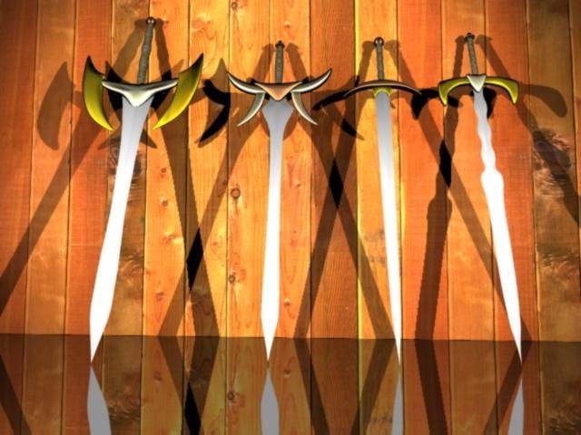 3d max sword