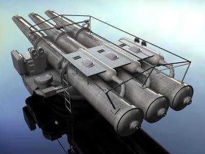 torpedo launcher 3ds