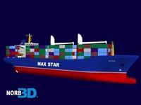 MaxStar Container Ship