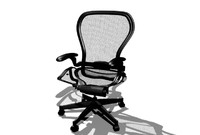aeron chair 3d model