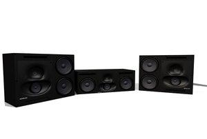 3d genelec speakers