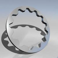 3d cog wheel