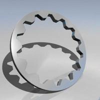 3d cog wheel model