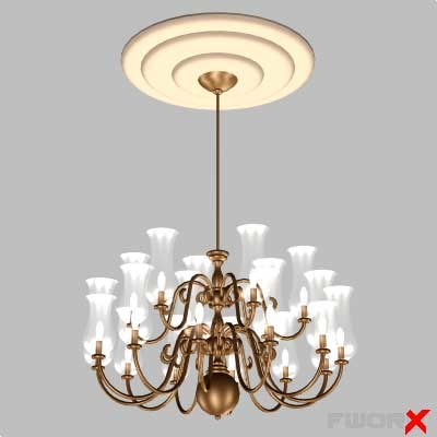 max chandelier light lamp
