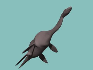 3d model loch ness monster