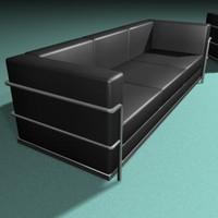 3d modern sofa seat model