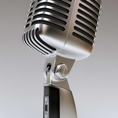 mic 55sh 3d model