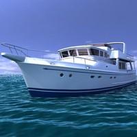 boat yacht 3d model