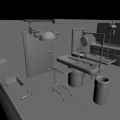 funeral morgue 3d x