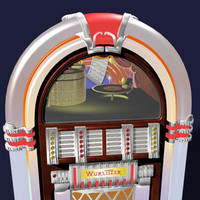 antique juke box 3d 3ds
