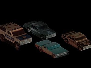 3ds automobile vehicle police