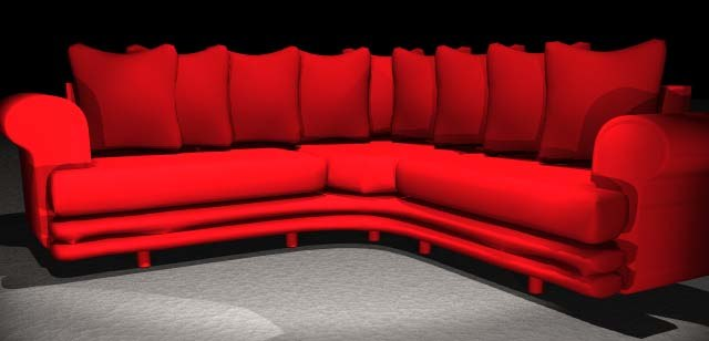 3d couch s