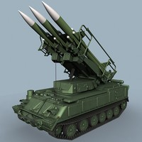 soviet gainful sa-6 3d model