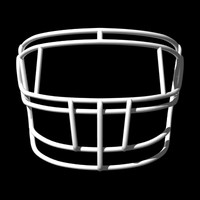 facemasks football helmet 3d lwo