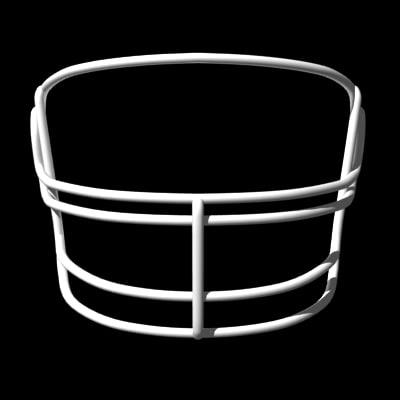 3d facemasks football helmet model
