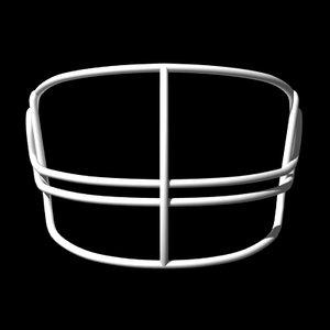 facemasks football helmet 3d lwo