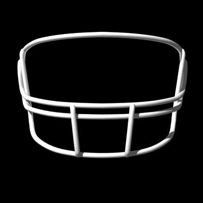facemasks football helmet 3d model