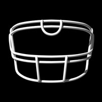 lwo facemasks football helmet