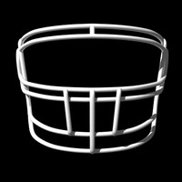 3d facemasks football helmet model