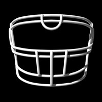 facemasks football helmet lwo