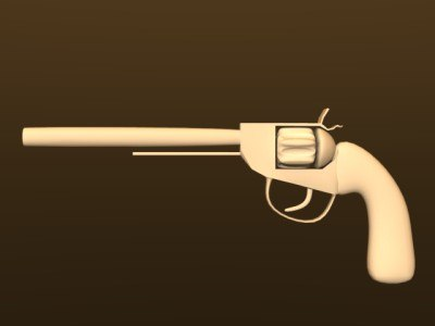 3d weapon wild west model