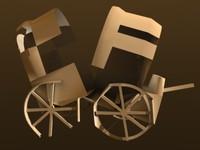 crash cart 3d model