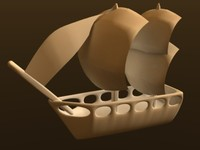3ds max pirate ship