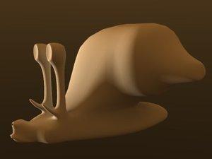 3d snail mars