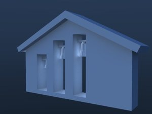 3ds max country belfry