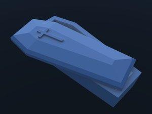 3dsmax coffin