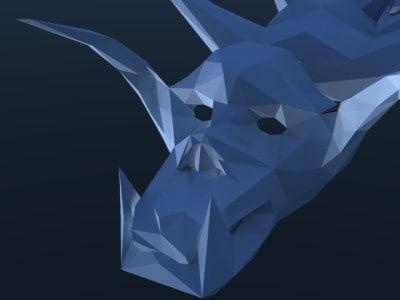 animal mars 3d model