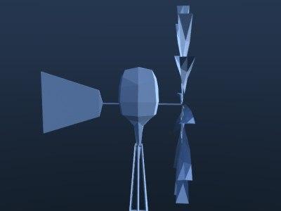 3ds wind power plant