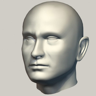 max head surface
