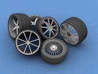 Colection of various rims
