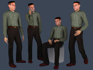 3d people - ryan model