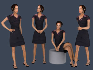 people - talea 3d model
