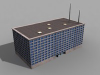 building office 3d model