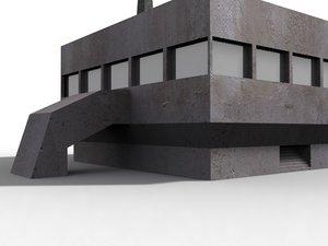 3d building lab model
