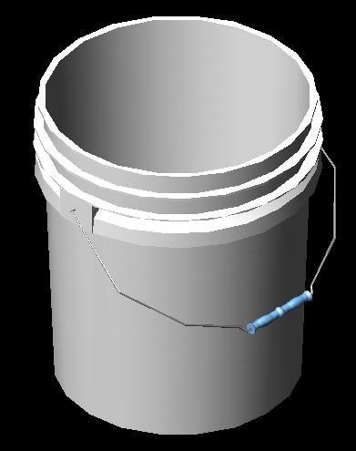 3dsmax 5 gallon bucket solid