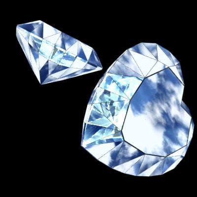 diamond precious stone 3d model