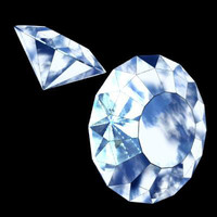 3ds max diamond precious stone