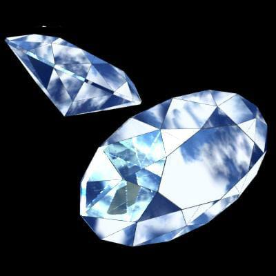3d 3ds diamond precious stone