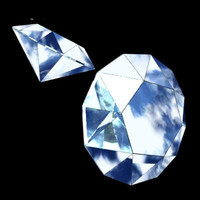 3d 3ds diamond precious stone