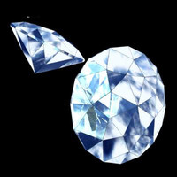 diamond precious stone 3d 3ds